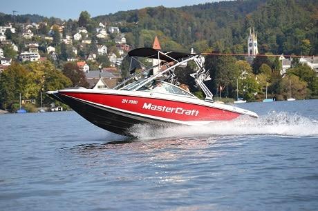Mastercraft X2 350 PS Geschäftsausflug Schweiz